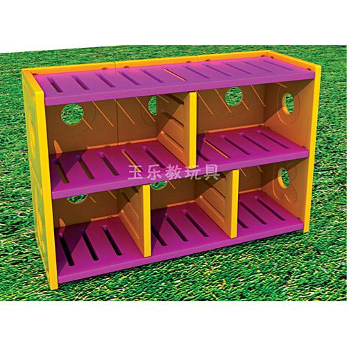 新型双层玩具柜