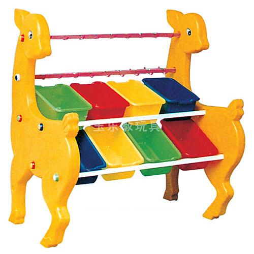 小鹿毛巾玩具架