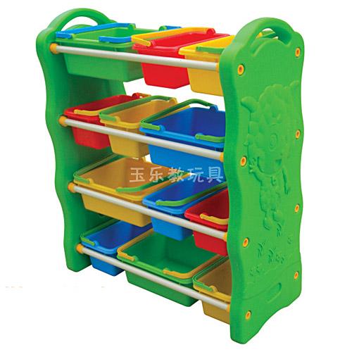 喜羊羊四层玩具柜