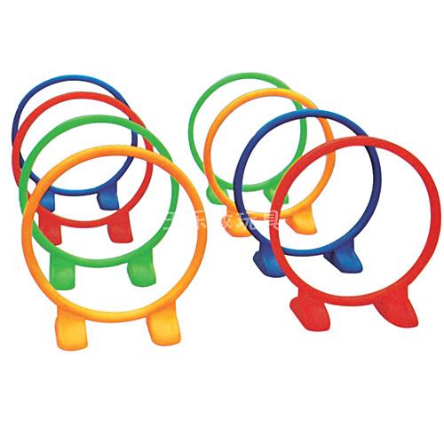塑料游戏钻圈