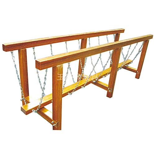 惊险独木桥