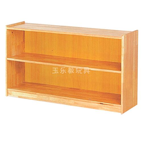 原木教具柜二段