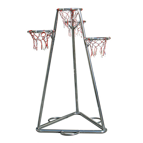 多篮式篮球架